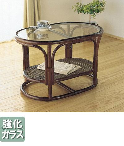 ◆ラタン 籐 テーブル T350B【送料無料】【大川家具】【smtb-MS】【HPO】【KOU】