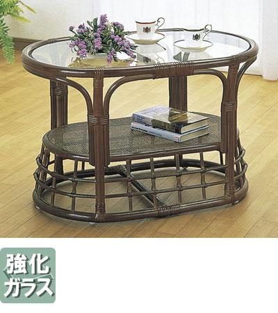 ◆ラタン 籐 テーブル T450B【送料無料】【大川家具】【smtb-MS】【HPO】【KOU】