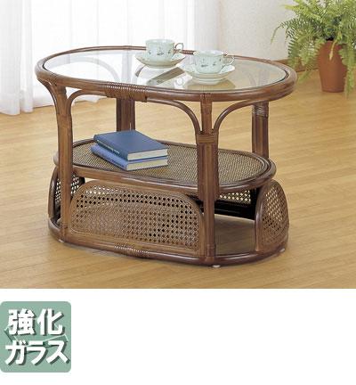 ラタン 籐 テーブル T470B【送料無料】【大川家具】【smtb-MS】【HPO】【KOU】