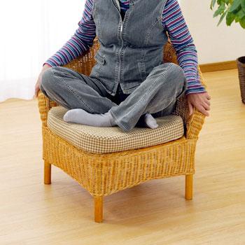 ◆ラタン 籐 アームチェアー Y129【送料無料】【大川家具】【smtb-MS】【HPO】【KOU】