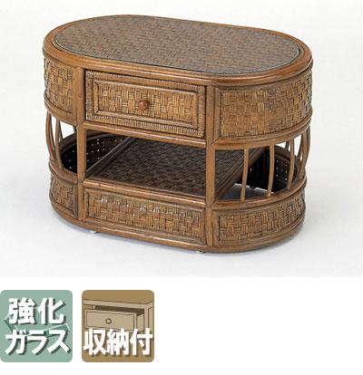 ◆ラタン 籐 テーブル T701【送料無料】【大川家具】【smtb-MS】【HPO】【KOU】