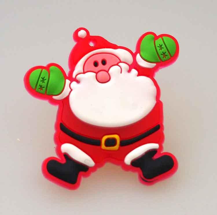 クリスマスバッジ スイッチを入れるとピカピカとLEDが激しく光ります クリスマス雑貨 ぴかぴかLEDミニサンタクロースバッジ 新商品 クリスマス装飾 全品最安値に挑戦