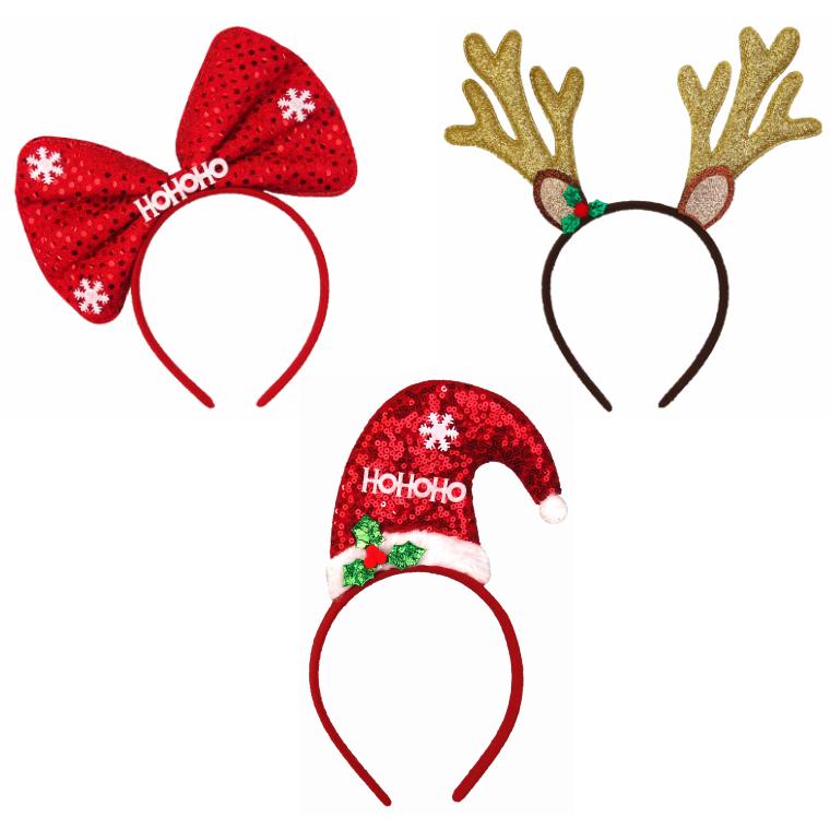<title>クリスマスカチューシャを付けてレッツパーティー☆可愛いデザインのキラキラ輝くカチューシャです 激安通販 クリスマス雑貨 クリスマスコスプレ クリスマストゥインクルカチューシャ</title>