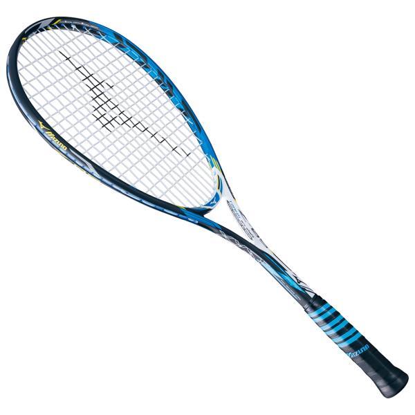ミズノ ジストZ-05 16SS ソフトテニスラケット 63JTN636-23 (ブラック×ブルー)