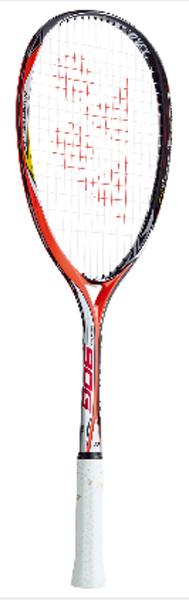 ヨネックス NEXIGA(ネクシーガ) 90G ソフトテニスラケット NXG90G-212 (ブライトレッド)