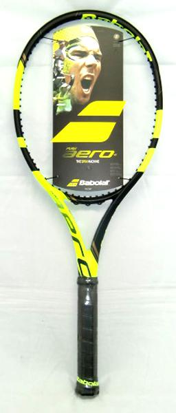 バボラ ピュア アエロ VS 硬式テニスラケット BF101319-BKYL(ブラック/イエロー)