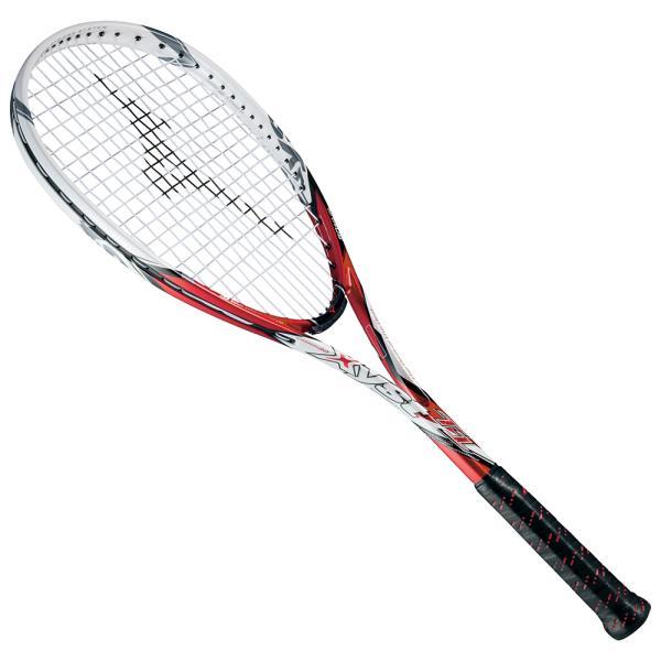 ミズノ ジスト ジスト T1 T1 63JTN521-62 ソフトテニスラケット 63JTN521-62 (レッド×ホワイト), ビワ町:eef5e8bf --- casalva.ai
