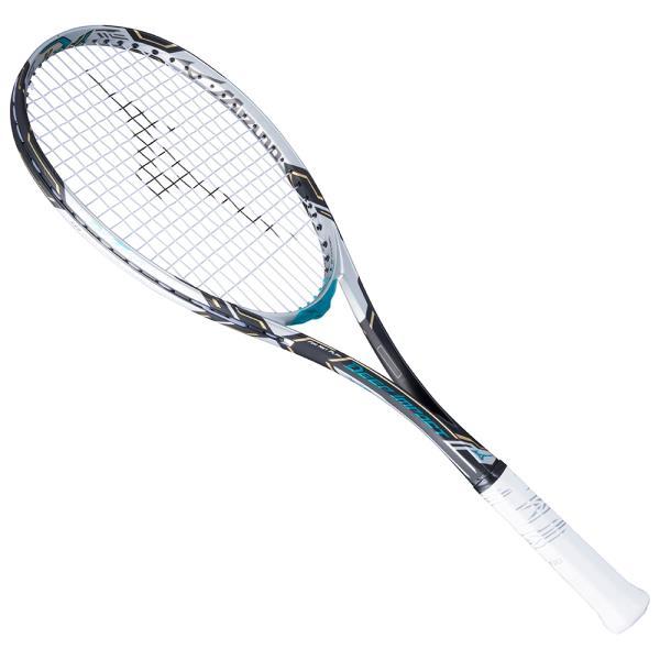 ミズノ ディーアイ Tツアー ソフトテニスラケット 63JTN741-20 (ソリッドブラック×メタルブルー)
