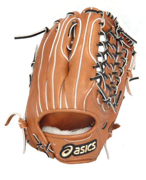 アシックス ゴールドステージ グロリアス(外野手用) 野球 硬式グラブ BGH6GU-3190 (ブリックブラウン×ブラック)