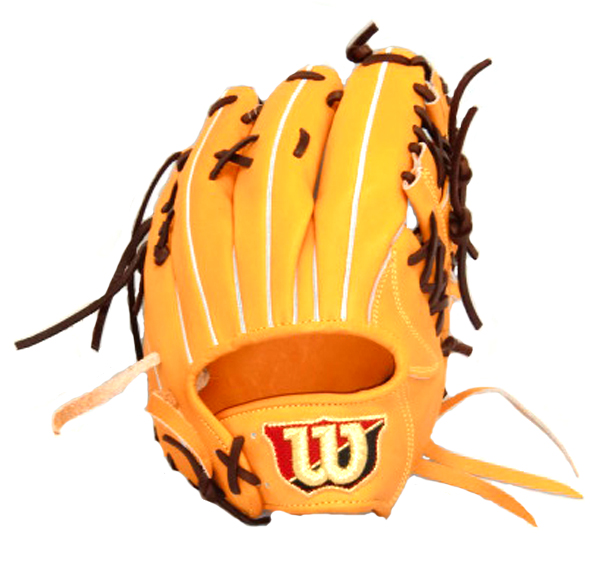 ウィルソン Wilson Staff 内野手用 野球 硬式グラブ WTAHWC47H-21 (Wオレンジ)