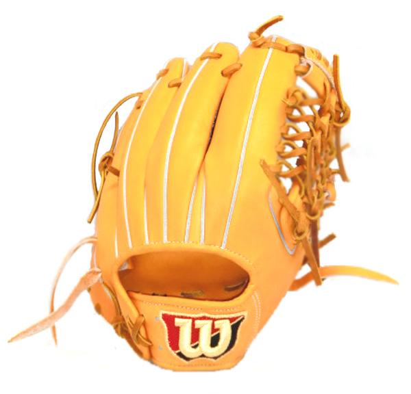 独特な ウィルソン Wilson Staff 内野手用 野球 硬式グラブ WTAHWQ4YF-21 (Wオレンジ), 榎本通商 a008e1be