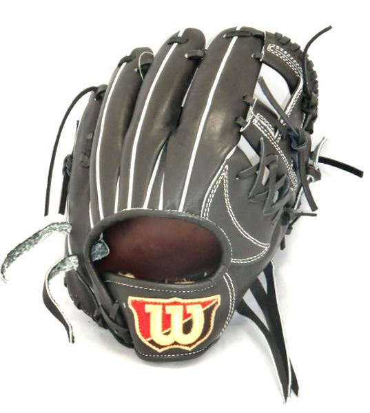 ウィルソン Wilson Staff 内野手用 野球 軟式グラブ WTARW069H-90 (ブラック)