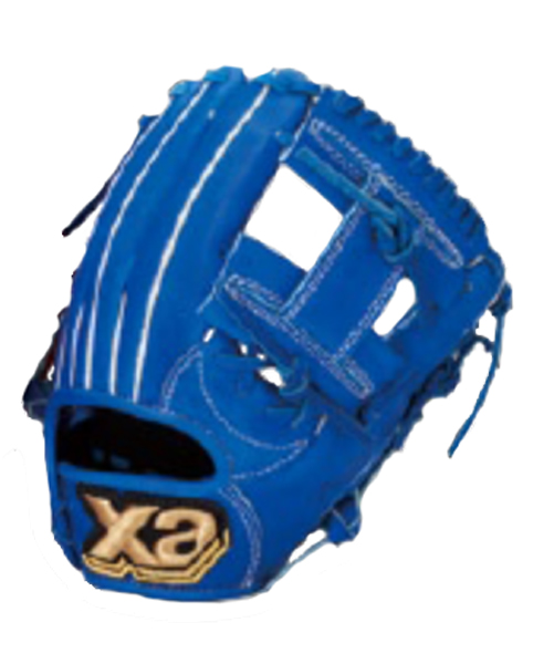 ザナックス ザナパワーシリーズ オールラウンド小用 17SS 野球 少年軟式グラブ BJG4016-45 (ブルー )