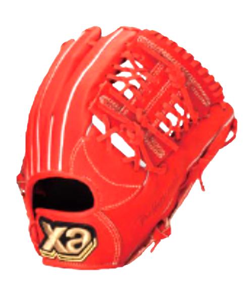 ザナックス ザナパワーシリーズ オールラウンド小 17SS 野球 軟式グラブ BRG-6316-R20 (Rオレンジ)