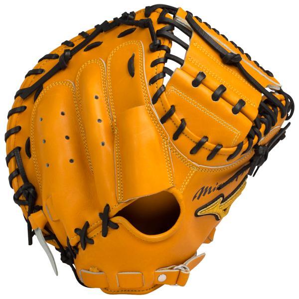 ミズノ <ミズノプロ>スピードドライブテクノロジー【捕手用】 野球 硬式グラブ 1AJCH14020-54 (オレンジ)