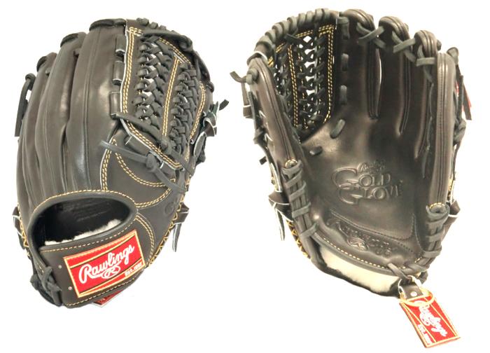 ローリングス 硬式 内野手用 野球 硬式グラブ GH5GG46-B (ブラック)