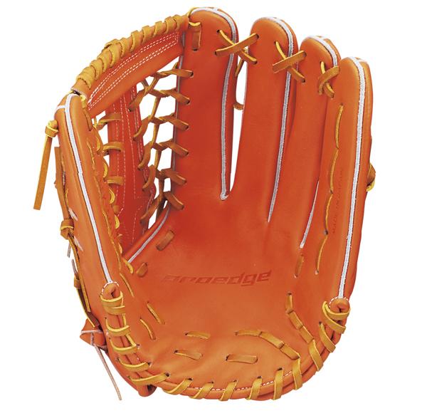 SSK 硬式プロエッジ外野手用(限定生産) 17SS 野球 硬式グラブ PEK57617-3547 (オレンジ×タン)