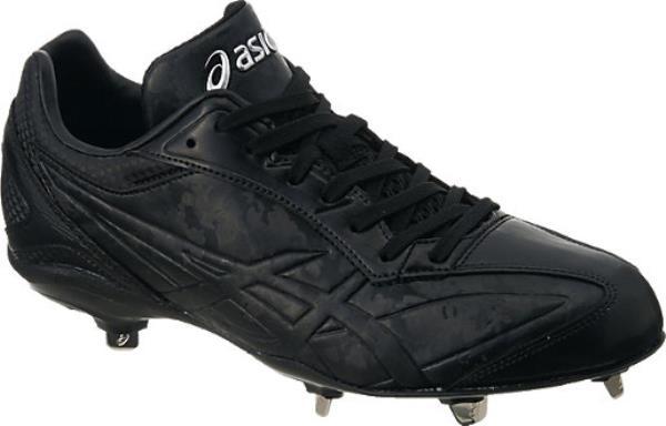 アシックス I DRIVE アイ ドライブW 17SS 野球 スパイク SFS212-9090 (ブラック×ブラック)