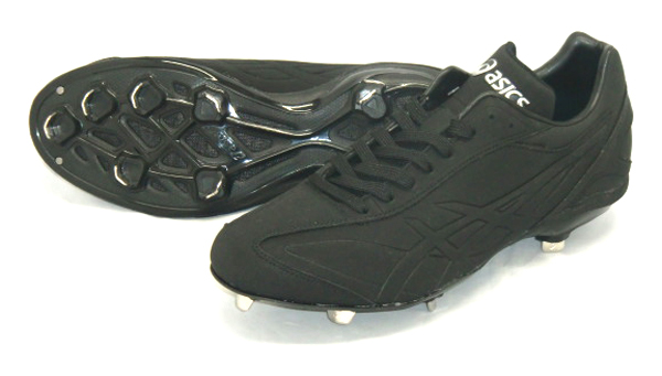 アシックス 樹脂底金具スパイク I DRIVE NU 17AW 野球 スパイク SFS214-9090 (ブラック×ブラック)