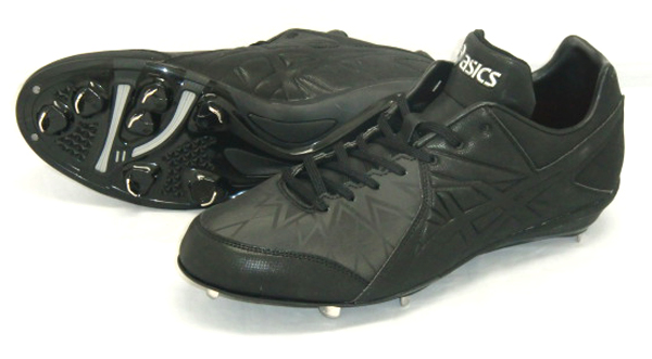 アシックス アイクイック 野球 スパイク SFS216-9090 (ブラック×ブラック)