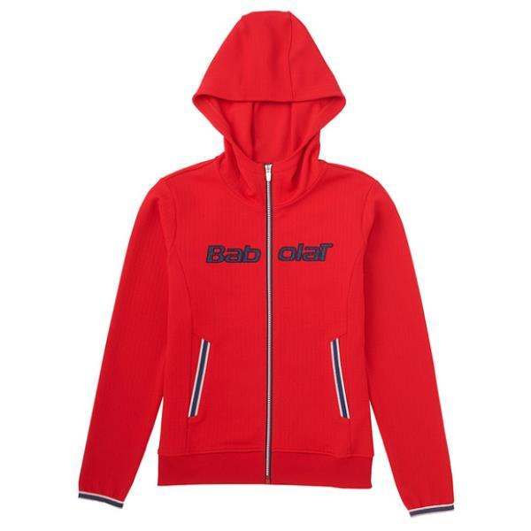 バボラ ライトジャケット 17FW テニス ウエア BAB-5784W-RD (レッド)