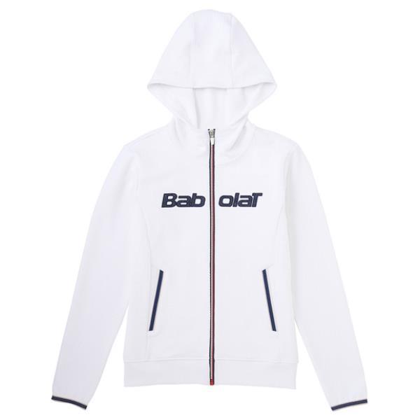 バボラ ライトジャケット 17FW テニス ウエア BAB-5784W-WH (ホワイト)