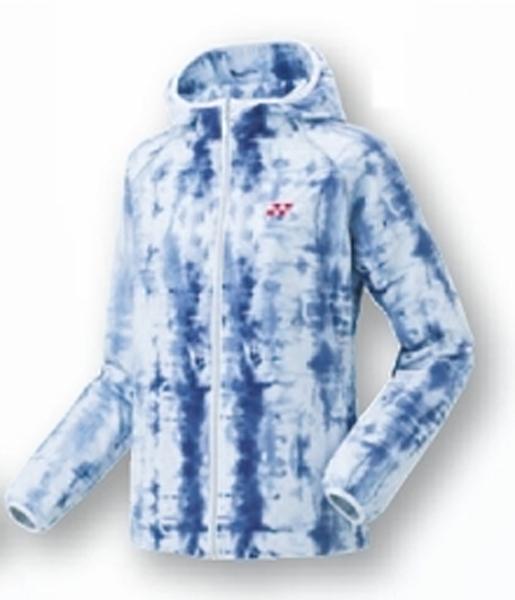 ヨネックス 裏地付ウインドウオーマーシャツ(WOMEN)17FW テニス ウォームアップウエア 78050-002 (ブルー)