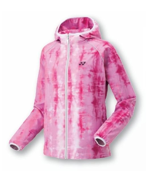 ヨネックス 裏地付ウインドウオーマーシャツ(WOMEN)17FW テニス ウォームアップウエア 78050-026 (ピンク)
