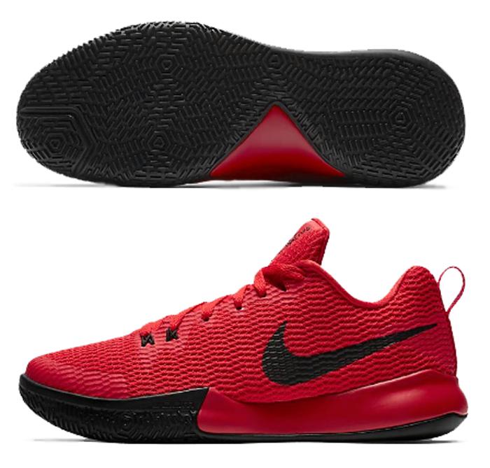 ナイキ Nike スームライブ II EP バスケットボールシューズ AH7567-600 (ユニバーシティレッド/ブラック)