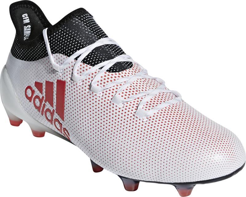 アディダス adidas エックス 17.1 FG/AG 18Q3 サッカースパイク CP9161 (ランニングホワイト/リアルコーラル S18/コアブラック)