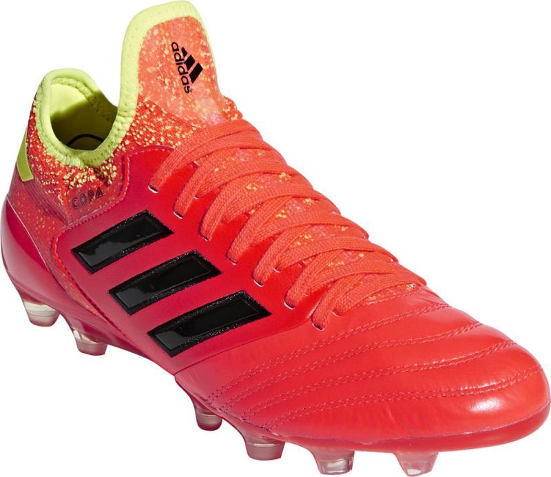 アディダス adidas コパ 18.1-ジャパン HG サッカースパイク B96591 (ソーラーレッド×コアブラック×ソーラーイエロー)