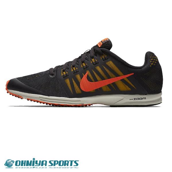 ナイキ Nike エアズーム スピードレーサー6 FA18 メンズランニングシューズ 749360-067 (オイルグレー/ボルト/ライトボーン/ブライトクリムゾン)