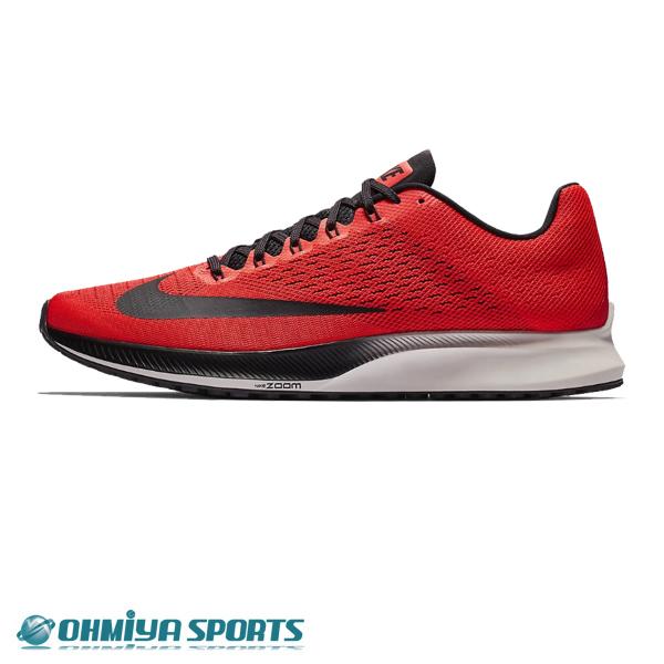 ナイキ Nike エアズーム エリート 10 FA18 メンズランニングシューズ 924504-600 (ブライトクリムゾン/オイルグレー/ファントム/サンダーグレー)