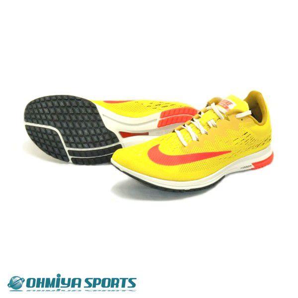ナイキ Nike エアーズーム ストリーク LT4  FA18 メンズランニングシューズ 924514-706 (ブライトシトロン/クリムゾン)