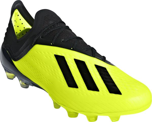 アディダス adidas エックス18.1-ジャパン HG 18Q3 サッカースパイク AP9938 (ソーラーイエロー×コアブラック×ランニングホワイト)