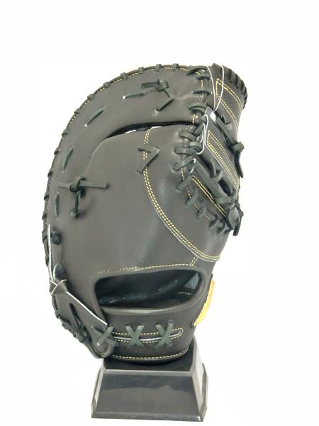 ミズノ MIZONO [ミズノプロ]フィンガーコアテクノロジーファーストミット 18SS 硬式グラブ 1AJFH18000-09 (ブラック)