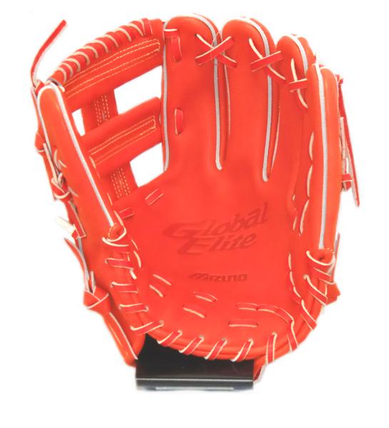 ミズノ MIZONO [グローバルエリート] 内野手用 K型 硬式グラブ 1AJGH97013-52 (スプレンディッドオレンジ)