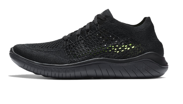 ナイキ Nike ウイメンズ ナイキ フリーラン フライニット 2018 レディスランニングシューズ 942839-002 (ブラック/アンスラサイト)