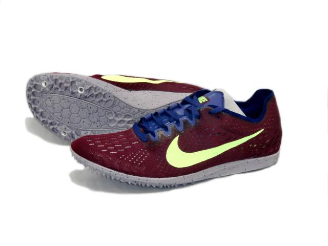ナイキ Nike ナイキ ズームマトゥンボ3 陸上スパイク 835995-600 (ボルドー/ライムブラスト)