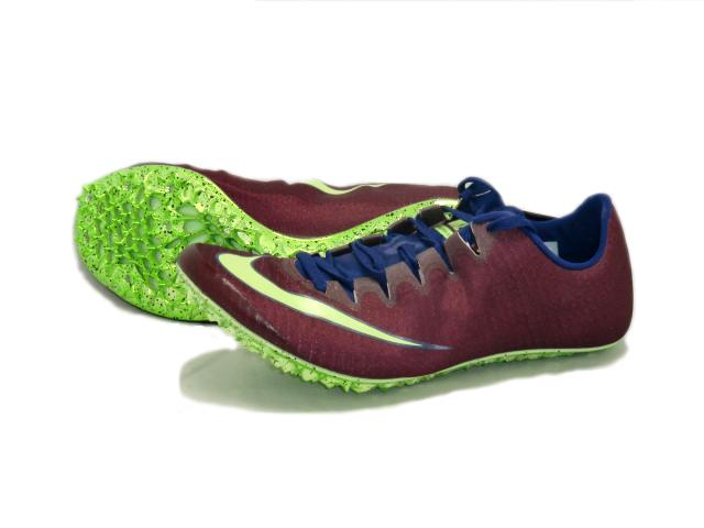 ナイキ Nike ナイキ ズーム スーパー フライエリート 陸上スパイク 835996-600 (ボルドー/ライムブラスト)