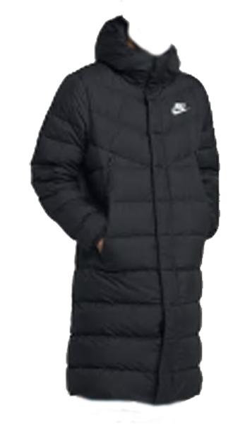 ナイキ Nike スポーツウエア ウインドランナーダウン フィル NEW コート AA8854-010 (ブラック/ブラック/ホワイト)