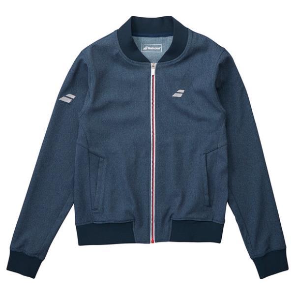 バボラ BABOLAT デニム ジャケット NEW レディース ウォームアップウエア BTWMJK44-NV (ネイビー)