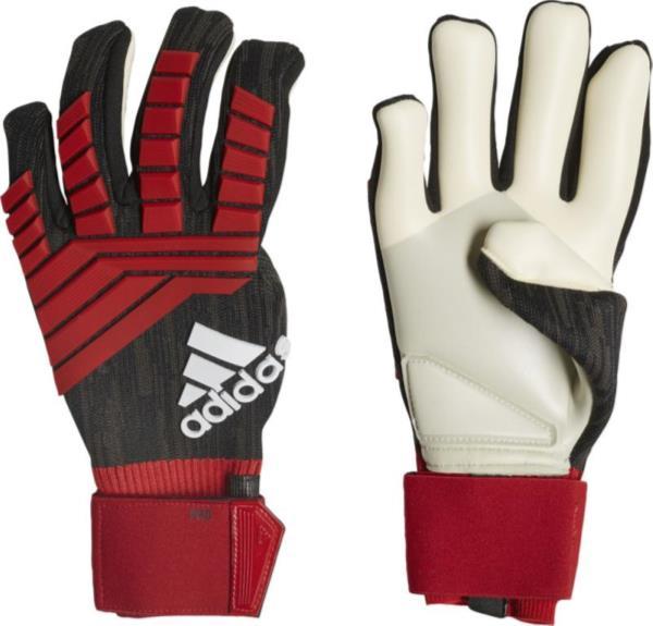 アディダス adidas プレデター プロ メンズ キーパーグラブ NEW キーパー用手袋 EUB35-CW5589 (ブラック/レッド/ホワイト)