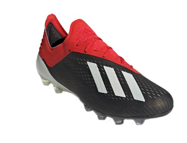 アディダス adidas エックス18.1-ジャパンHG/AG NEW メンズサッカースパイク F97495 (コアブラック/ランニングホワイト/アクティブレッドS19)