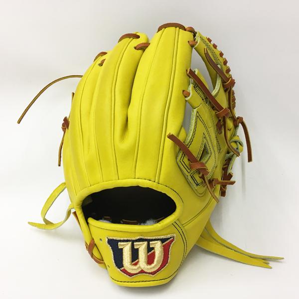 Wilson ウイルソン WTAHWDDOH-32 野球 硬式 グローブ ウィルソン スタッフ デュアルテクノロジー 内野手用 ライム