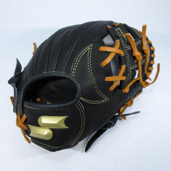 SSK エスエスケイ ssj741f-9047 【グラブ グローブ】野球 少年軟式用グローブ(オールラウンド用) ブラック×タン
