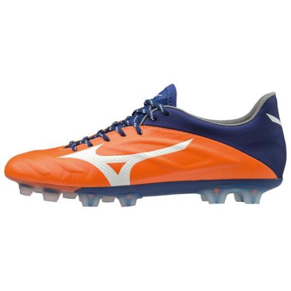 ミズノ MIZONO レビュラ2V1 JAPAN(サッカー)(ユニセックス)NEW ユニセックスサッカースパイク P1GA1970-54 (オレンジ×ホワイト×ブルー)