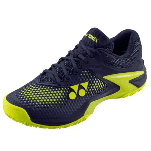 ヨネックス YONEX パワークッションエクリプション2 メン AC NEW メンズ テニスシューズ SHTE2MAC-761 (ネイビー/イエロー)