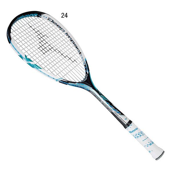 MIZUNO ミズノ 63jtn551-24 テニス ソフトテニスラケット ディープインパクトエスコンプ