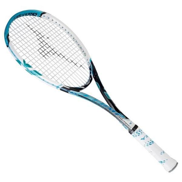 MIZUNO ミズノ 63jtn552-24 メンズ レディース ソフトテニスラケット ディープインパクト Tコンプ 軟式テニス ポータブルケース付き フレームのみ